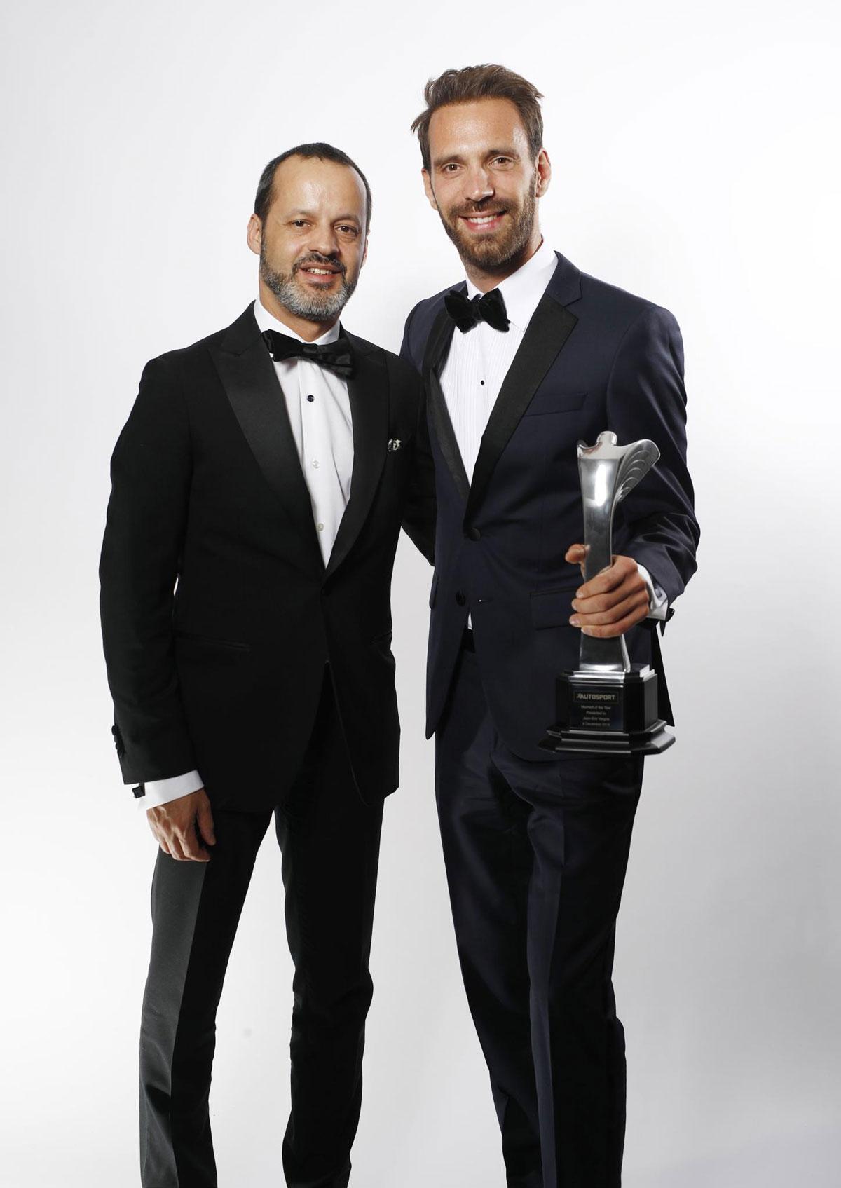Riccardo De Filippis and Jean-Eric Vergne