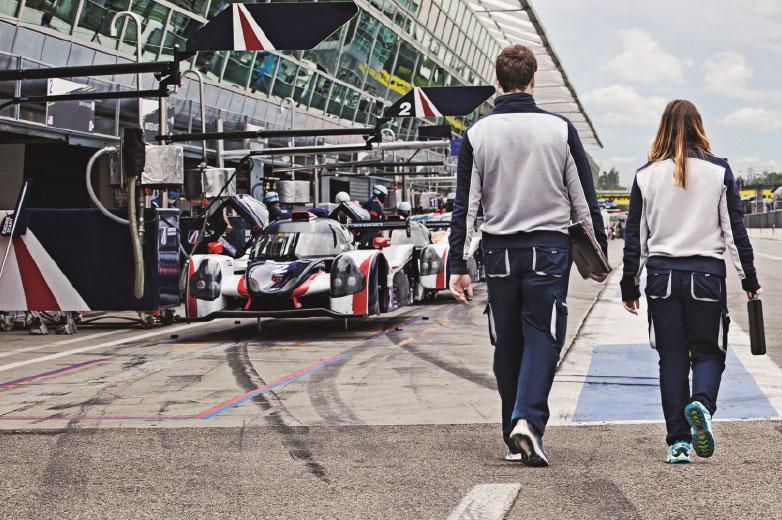Motorsport Team at Monza GP