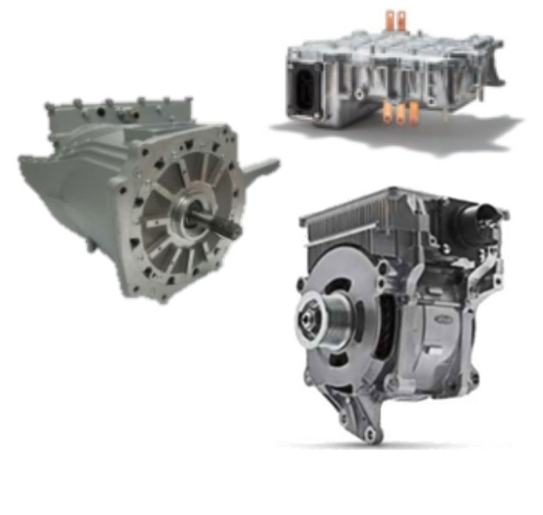 Electric Powertrain Highlight Components