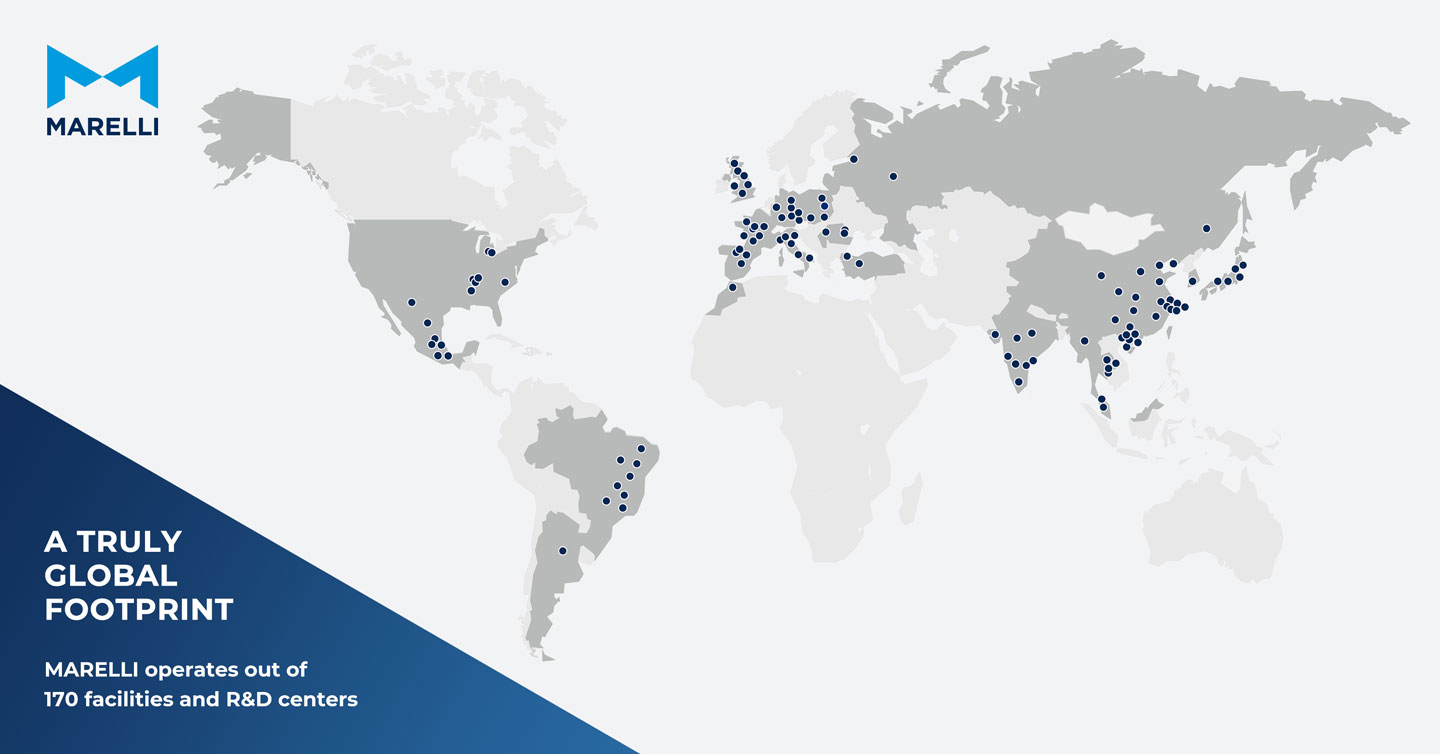 MARELLI Global Footprint