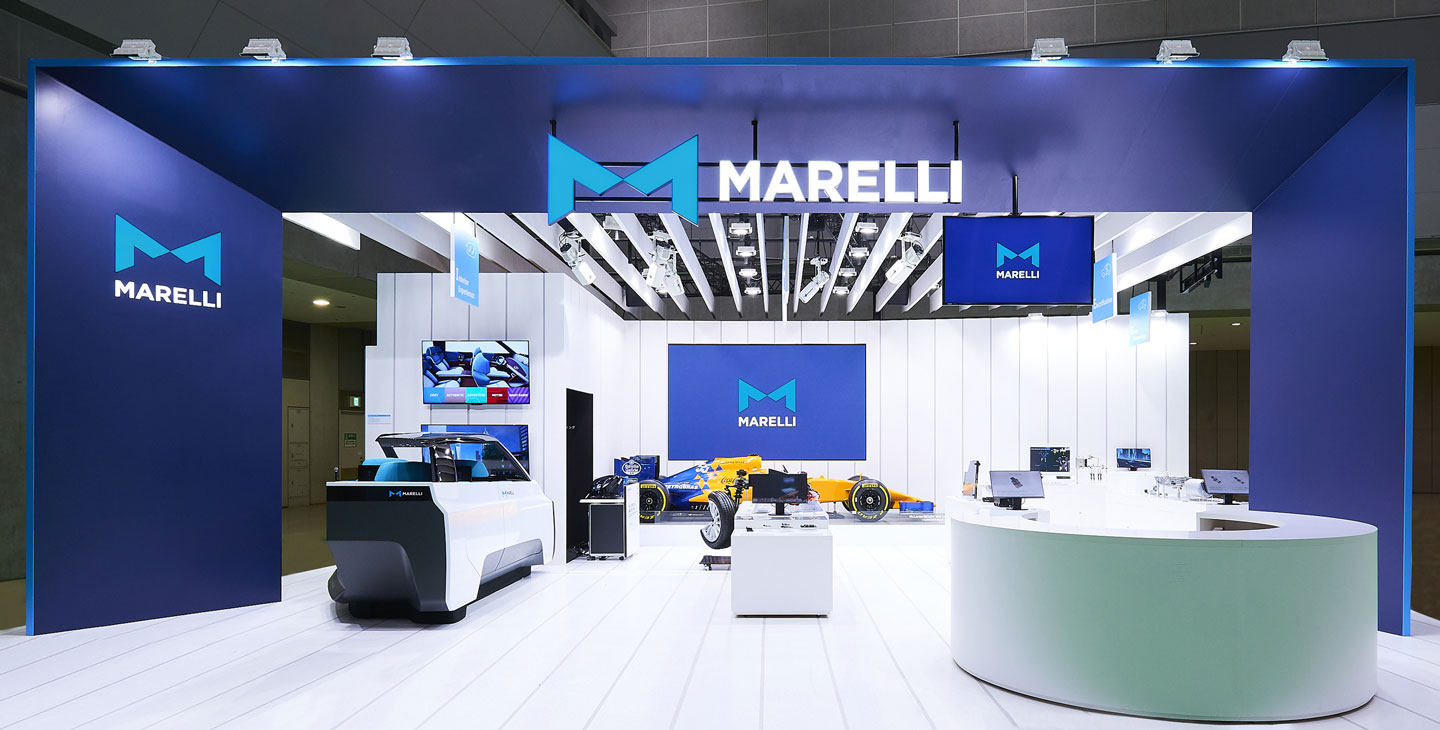MARELLI Stand at the Tokyo Motor Show 2019